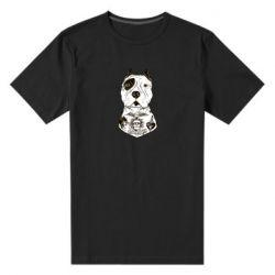 Мужская стрейчевая футболка Not a monster