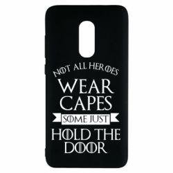 Чехол для Xiaomi Redmi Note 4 Not all heroes wear capes