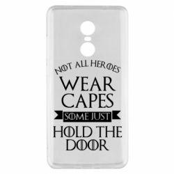 Чехол для Xiaomi Redmi Note 4x Not all heroes wear capes