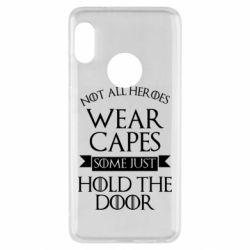 Чехол для Xiaomi Redmi Note 5 Not all heroes wear capes