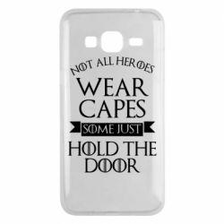 Чехол для Samsung J3 2016 Not all heroes wear capes