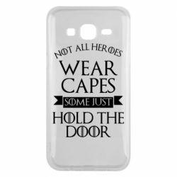 Чехол для Samsung J5 2015 Not all heroes wear capes