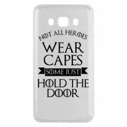 Чехол для Samsung J5 2016 Not all heroes wear capes