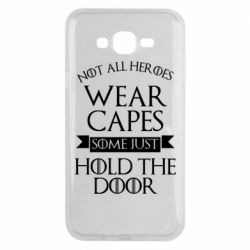 Чехол для Samsung J7 2015 Not all heroes wear capes