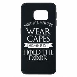 Чехол для Samsung S6 EDGE Not all heroes wear capes