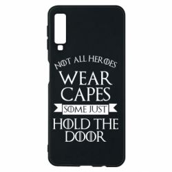 Чехол для Samsung A7 2018 Not all heroes wear capes
