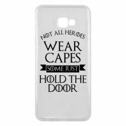 Чехол для Samsung J4 Plus 2018 Not all heroes wear capes