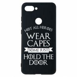 Чехол для Xiaomi Mi8 Lite Not all heroes wear capes