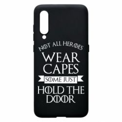 Чехол для Xiaomi Mi9 Not all heroes wear capes
