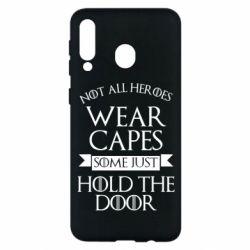 Чехол для Samsung M30 Not all heroes wear capes
