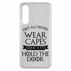 Чехол для Xiaomi Mi9 SE Not all heroes wear capes
