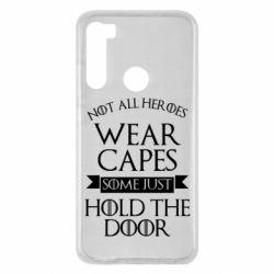 Чехол для Xiaomi Redmi Note 8 Not all heroes wear capes