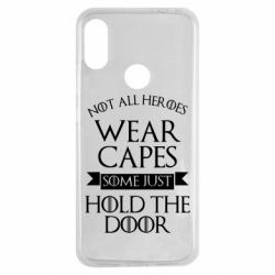 Чехол для Xiaomi Redmi Note 7 Not all heroes wear capes