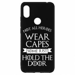 Чехол для Xiaomi Redmi S2 Not all heroes wear capes