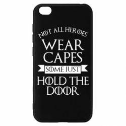 Чехол для Xiaomi Redmi Go Not all heroes wear capes