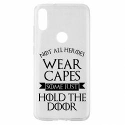 Чехол для Xiaomi Mi Play Not all heroes wear capes