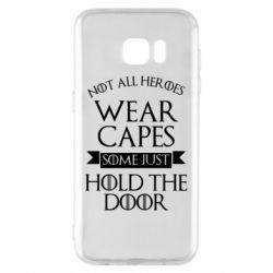 Чехол для Samsung S7 EDGE Not all heroes wear capes