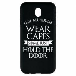 Чехол для Samsung J7 2017 Not all heroes wear capes