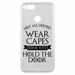 Чехол для Xiaomi Mi A1 Not all heroes wear capes