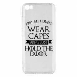 Чехол для Xiaomi Mi5/Mi5 Pro Not all heroes wear capes