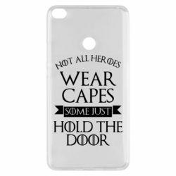 Чехол для Xiaomi Mi Max 2 Not all heroes wear capes