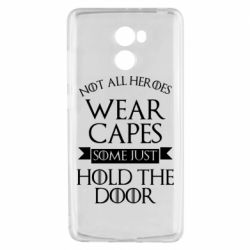 Чехол для Xiaomi Redmi 4 Not all heroes wear capes