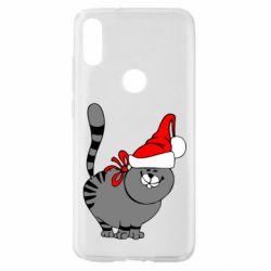 Чохол для Xiaomi Mi Play Новорічний коте
