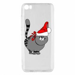 Чохол для Xiaomi Mi5/Mi5 Pro Новорічний коте