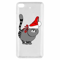 Чохол для Xiaomi Mi 5s Новорічний коте