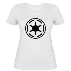 Женская футболка Новый герб Империи - FatLine