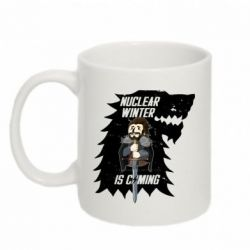 Кружка 320ml Nuclear winter is coming - FatLine