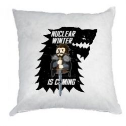 Купить Подушка Nuclear winter is coming, FatLine