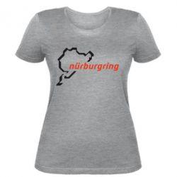 Женская футболка Nurburgring - FatLine