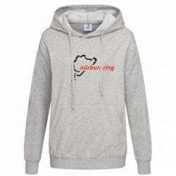Женская толстовка Nurburgring - FatLine