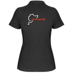 Женская футболка поло Nurburgring - FatLine