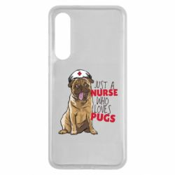 Чехол для Xiaomi Mi9 SE Nurse loves pugs