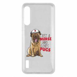 Чохол для Xiaomi Mi A3 Nurse loves pugs