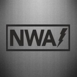 Наклейка NWA Flash
