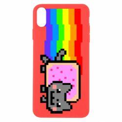 Чохол для iPhone X/Xs Nyan cat