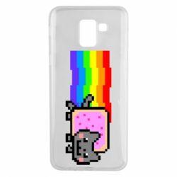 Чохол для Samsung J6 Nyan cat
