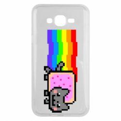 Чохол для Samsung J7 2015 Nyan cat