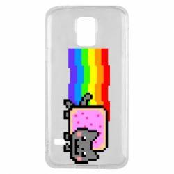 Чохол для Samsung S5 Nyan cat