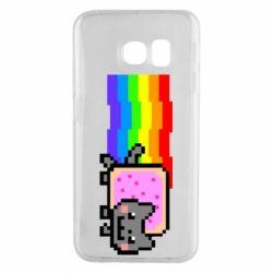 Чохол для Samsung S6 EDGE Nyan cat