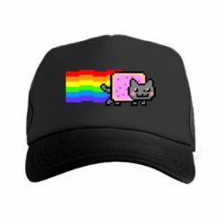 Кепка-тракер Nyan cat