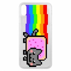 Чохол для iPhone Xs Max Nyan cat