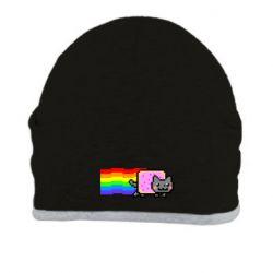 Шапка Nyan cat