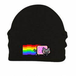 Шапка на флісі Nyan cat