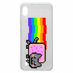 Чохол для Samsung A10 Nyan cat