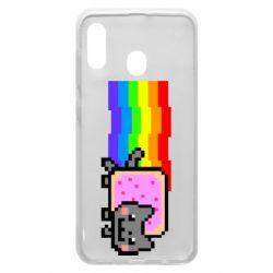 Чохол для Samsung A20 Nyan cat