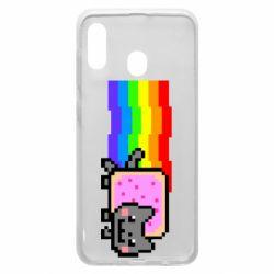 Чохол для Samsung A30 Nyan cat